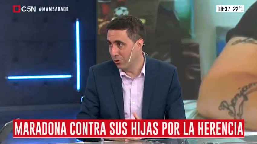 C5N: Entrevista a Juan Cruz Acosta Güemes en C5N.