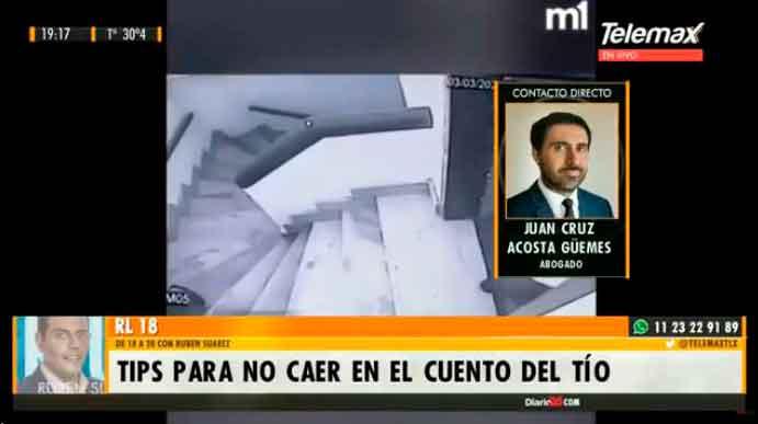 RADIO LATINA: Entrevista a Juan Cruz Acosta Güemes en Radio Latina.
