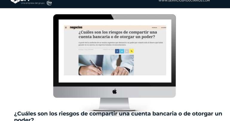 EL PAÍS URUGUAY: ¿Cuáles son los riesgos de compartir una cuenta bancaria o de otorgar un poder?